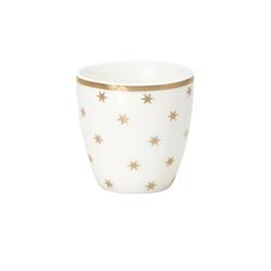 Kubek mini latte nova gold green gate