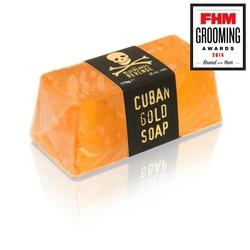 Bluebeards - męskie duże nawilżające mydło glicerynowe kubańskie złoto 175g