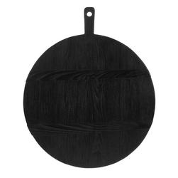 Hkliving okrągła deska czarna rozmiar l  abr2214