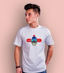 Lord of the board t-shirt męski biały xl