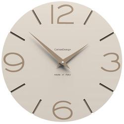 Zegar ścienny Smile CalleaDesign lniany 10-005-11