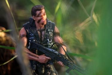 Commando - plakat wymiar do wyboru: 70x50 cm