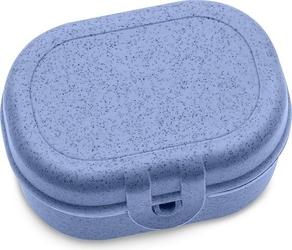 Lunchbox pascal mini organic niebieski