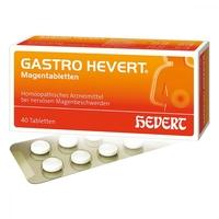 Gastro hevert tabletki na żołądek