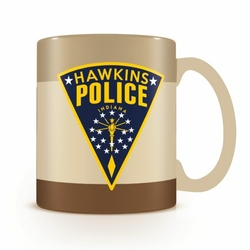 Stranger Things Hawkins Police - kubek z wypełnieniem