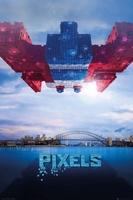 Pixels galaga - plakat