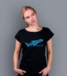 Można nie latać, ale po co t-shirt damski czarny xxl