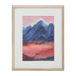 Hk living :: mały obraz w ramce rozmiar l: zachód słońca