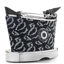 Casa bugatti - toster volo - 9895 kryształów czarnych i srebrnych swarovski ®