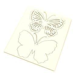Ozdobny motyl ażurowy - 03 - 03