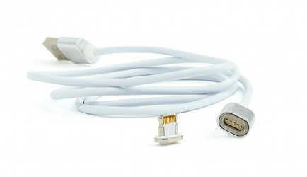 Gembird Kabel USB 2.0 magnetyczny8pin1msrebrny