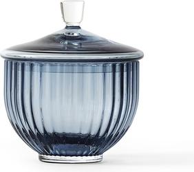 Bomboniera Lyngby szklana Blue