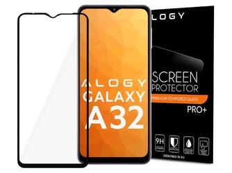 Szkło alogy full glue case friendly do samsung galaxy a32 5g czarne