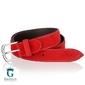 Czerwony pasek do spodni miguel bellido casualsport 945-35-8886-12-013