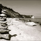 Kamienie na plaży - plakat wymiar do wyboru: 60x40 cm