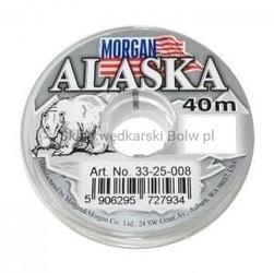 Żyłka przyponowa zimowa morgan alaska 0,12mm 2,65kg 40m