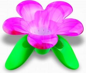 Zaparzaczka do herbaty Audrey Murano różowa