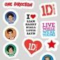 One Direction Forward - naklejki