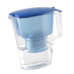 Dzbanek filtrujący wodę z  wkładem aquaphor time b100-25 maxfor niebieski 2,5 l
