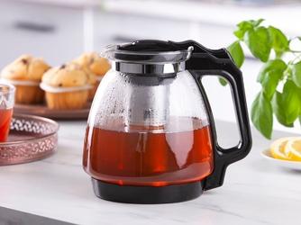Dzbanek  czajniczek z zaparzaczem do herbaty i kawy szklany altom design 2,2 l
