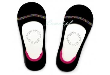 I36 czarne marilyn stopki