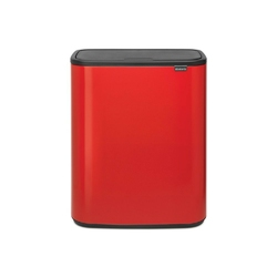 Brabantia - kosz bo touch bin, 60 l - czerwony - czerwony