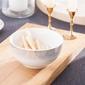 Miska  salaterka porcelanowa altom design bella złote romby 14 cm