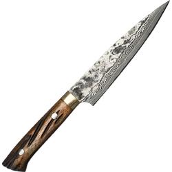 Nóż kuchenny uniwersalny ręcznie kuty takeshi saji ybb stal vg-10 ha-462