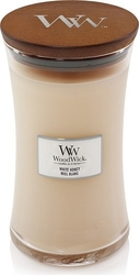 Świeca core woodwick white honey duża