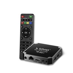 Smart TV BOX SAVIO Basic ONE - Szybka dostawa lub możliwość odbioru w 39 miastach
