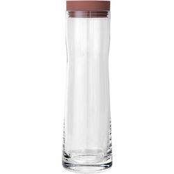 Karafka na wodę 1 Litr Splash Blomus różowa zatyczka B63781