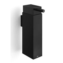 Zack - linea - dozownik do mydła wiszący, czarny