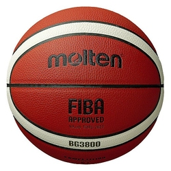 Piłka do koszykówki molten fiba approved indoor - bg3800