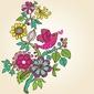 Naklejka samoprzylepna kolorowe romantyczne tło