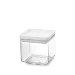 Brabantia - tasty+ - pojemnik kuchenny square, 0,70 l - szary - 10,50 cm