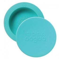 Oogaa jewel blue bowl  lid silikonowa miseczka z pokrywką
