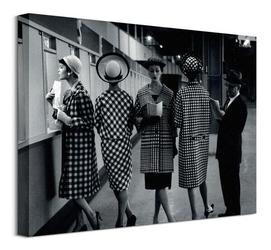Eleganckie kobiety - obraz na płótnie