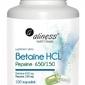 Aliness betaine hcl pepsyna 650150 mg x 100 kapsułek