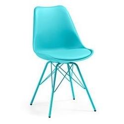 Krzesło lars niebieskie