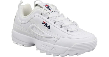 Fila disruptor low wmn 1fg white 39 biały