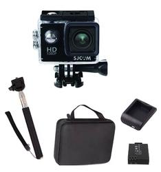 Kamera sportowa sjcam sj4000 fhd wifi + akcesoria z walizką