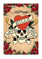 Ed hardy love kills slowly - reprodukcja