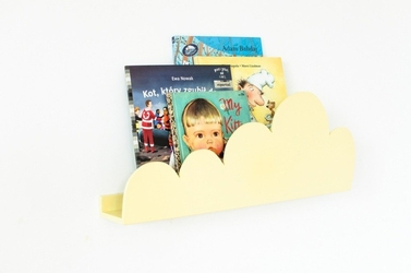 Półka chmurka - żółta