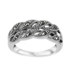 Staviori pierścionek. markazyty. srebro 0,925.