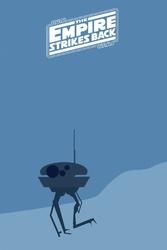 Star wars gwiezdne wojny imperium kontratakuje - plakat premium wymiar do wyboru: 30x40 cm