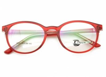 Oprawki okularowe pod korekcję lenonki st2931a czerwone