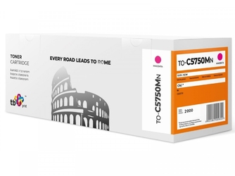 Tb print toner do oki c5750 to-c5750mn magenta 100 nowy