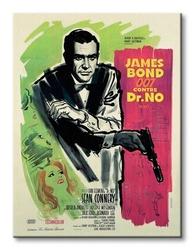 James bond dr no - french - obraz na płótnie