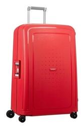 Walizka samsonite scure 69 cm czerwona paski - capri red stripes || czerwony