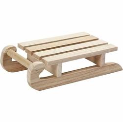 Drewniane sanki 19,5x10x4,8 cm